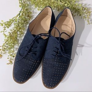 Kelly & Katie Maizy Lace-Up Perforated Loafers